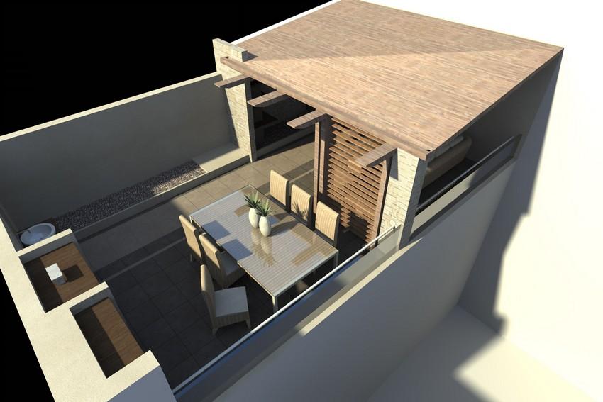 Progettazione Terrazzo Frattamaggiore - Architetto Gabriele ...